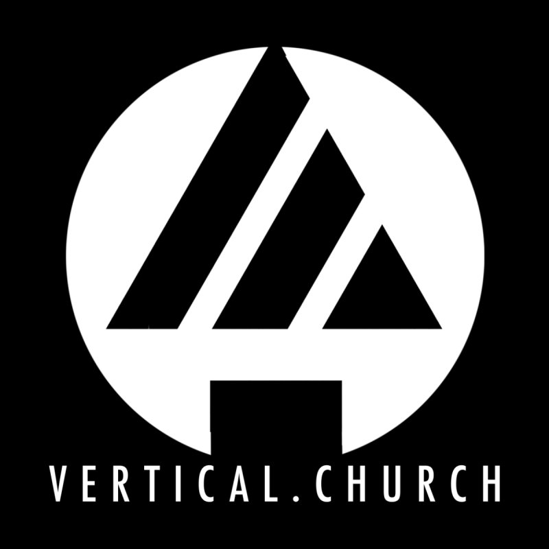 Vertical Church Logo White Men's Pullover Hoody by the vertical church's Artist Shop