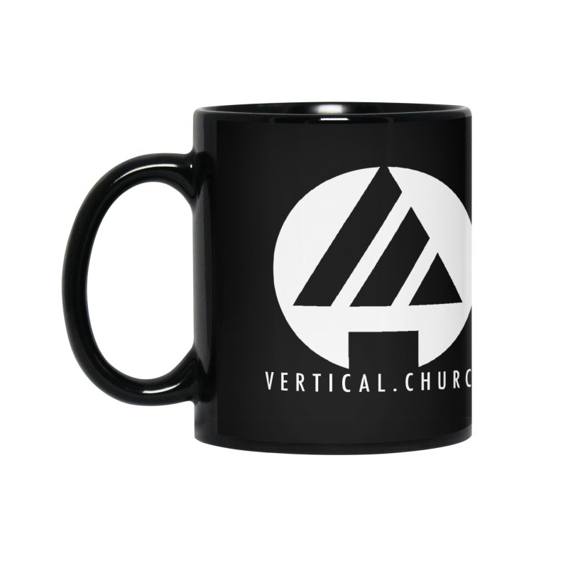 Vertical Church Logo White Accessories Mug by the vertical church's Artist Shop