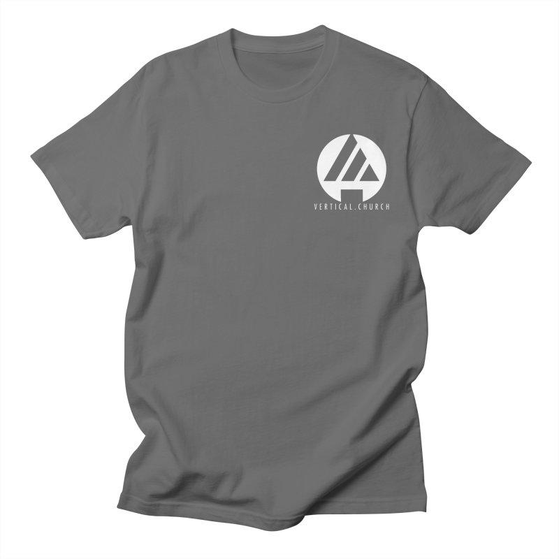 Vertical Church Logo White Men's T-Shirt by the vertical church's Artist Shop