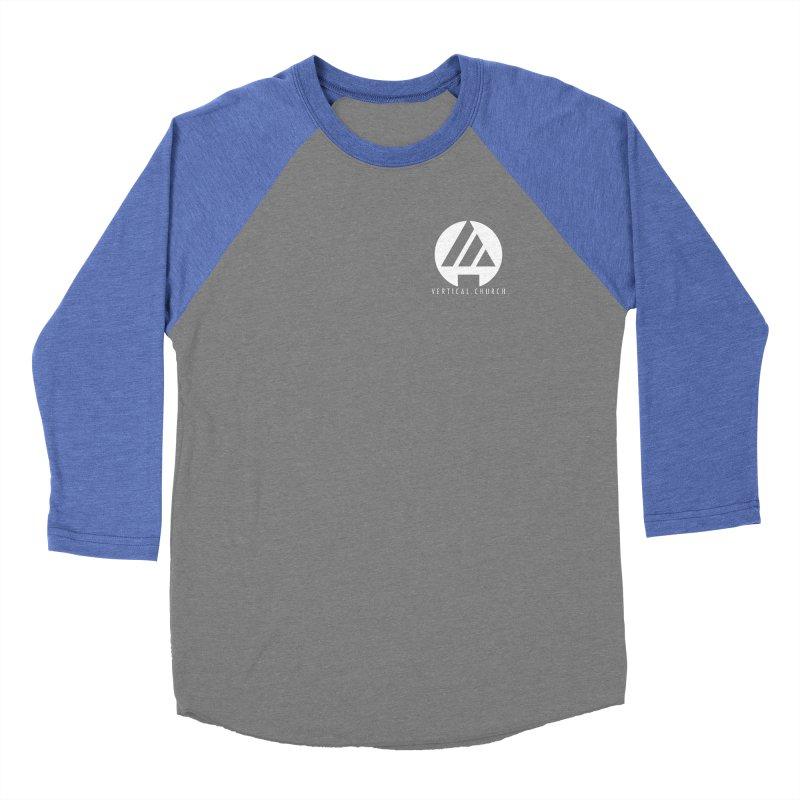 Vertical Church Logo White Women's Longsleeve T-Shirt by the vertical church's Artist Shop