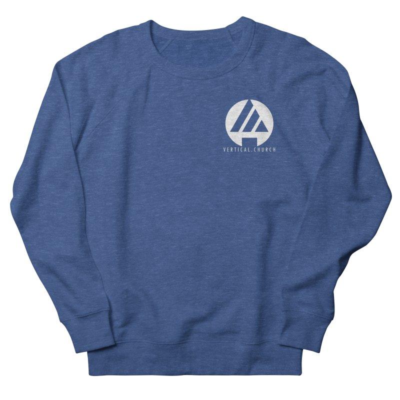 Vertical Church Logo White Men's Sweatshirt by the vertical church's Artist Shop