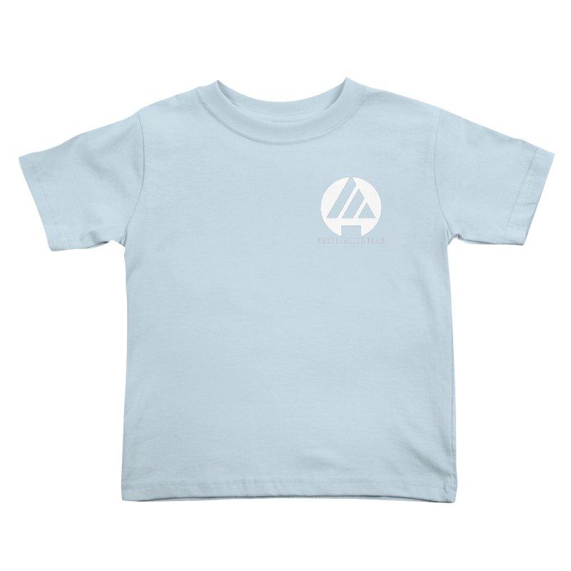 Vertical Church Logo White Kids Toddler T-Shirt by the vertical church's Artist Shop