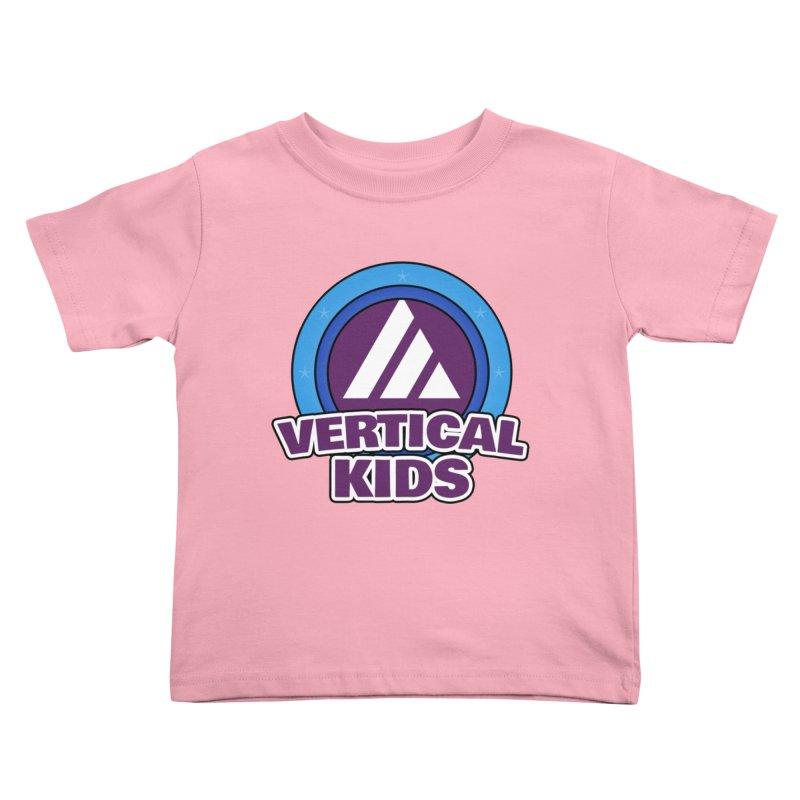 Kids Logo Kids Toddler T-Shirt by the vertical church's Artist Shop
