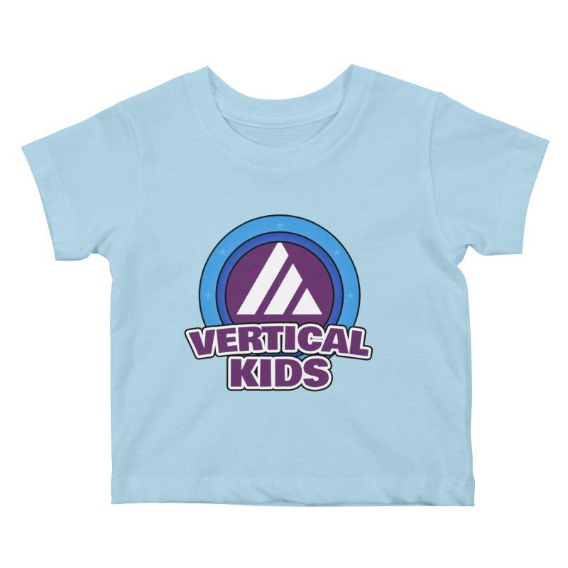 Kids Logo Kids Baby T-Shirt by the vertical church's Artist Shop