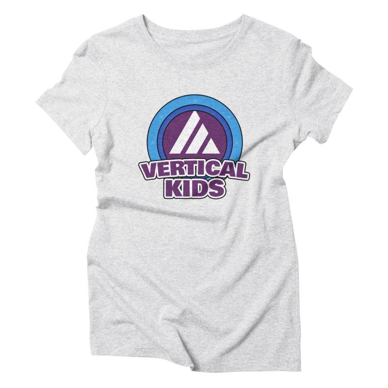 Kids Logo Women's T-Shirt by the vertical church's Artist Shop