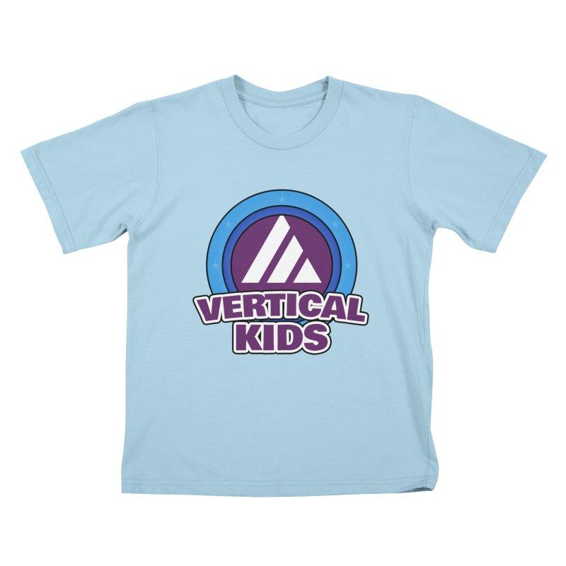 Kids Logo Kids T-Shirt by the vertical church's Artist Shop