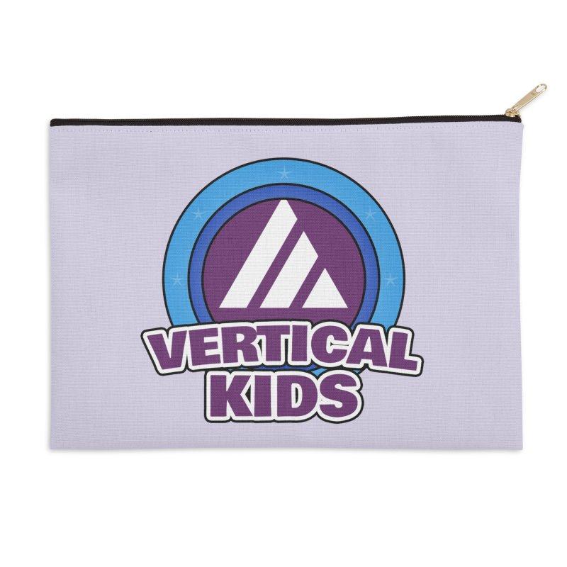 Kids Logo Accessories Zip Pouch by the vertical church's Artist Shop
