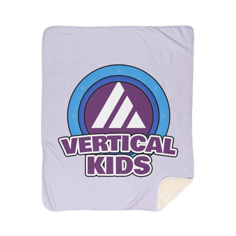 Kids Logo Home Sherpa Blanket Blanket by the vertical church's Artist Shop