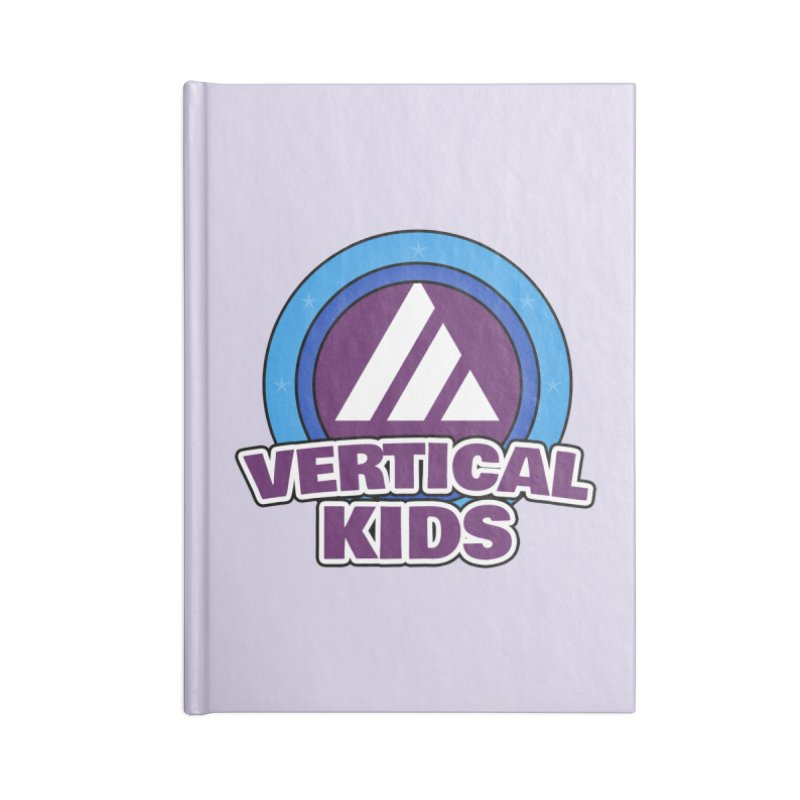 Kids Logo Accessories Notebook by the vertical church's Artist Shop