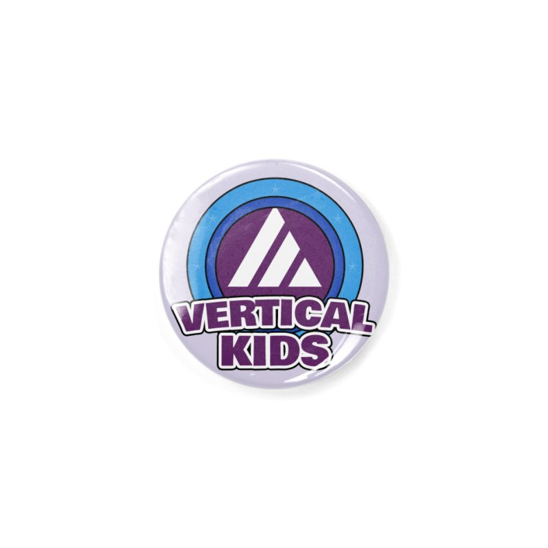 Kids Logo Accessories Button by the vertical church's Artist Shop