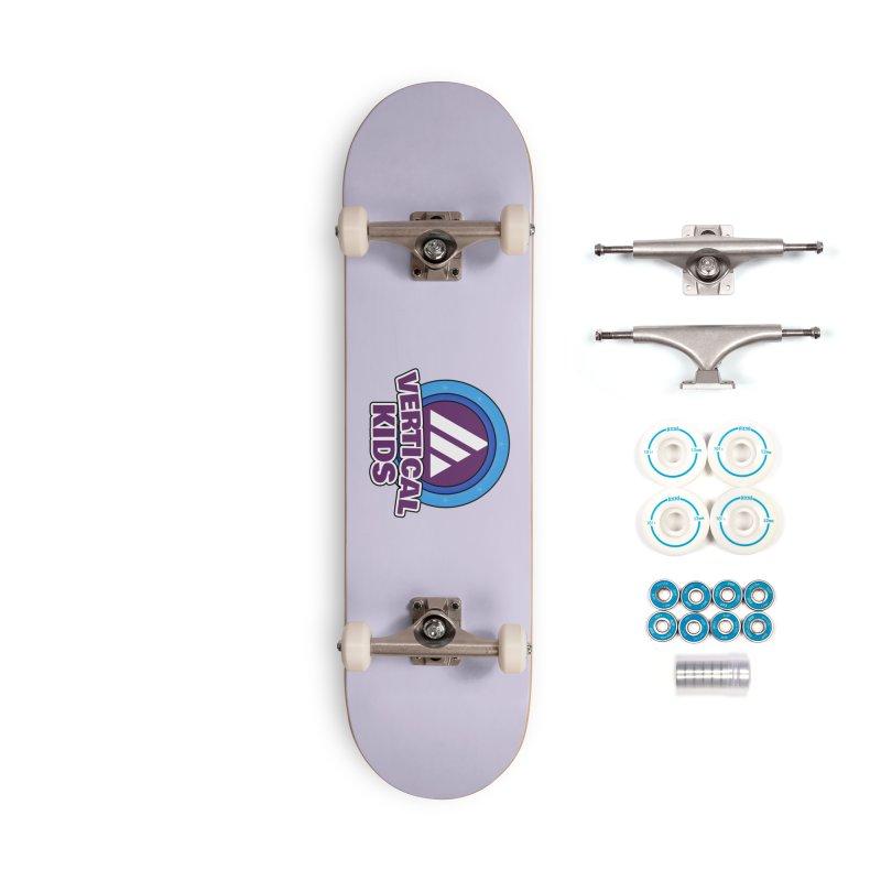 Kids Logo Accessories Skateboard by the vertical church's Artist Shop