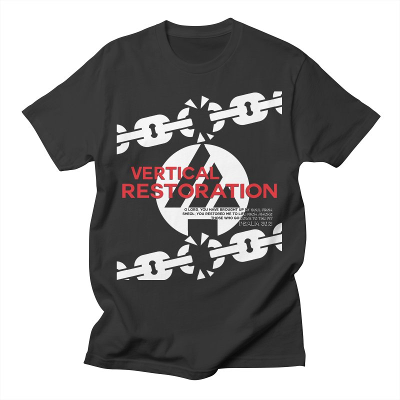 Vertical Restoration Men's T-Shirt by the vertical church's Artist Shop