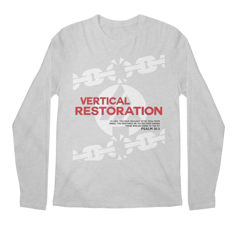Vertical Restoration Men's Regular Longsleeve T-Shirt by the vertical church's Artist Shop