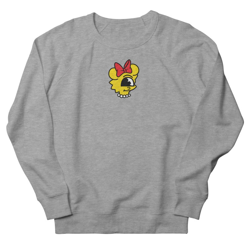 Daughter Women's French Terry Sweatshirt by The Vintage Skeleton's Artist Shop