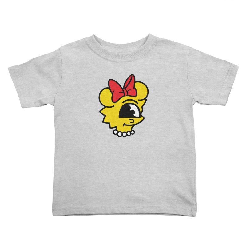 Daughter Kids Toddler T-Shirt by The Vintage Skeleton's Artist Shop