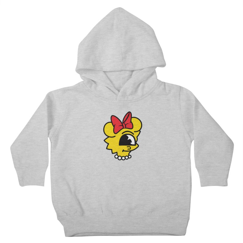 Daughter Kids Toddler Pullover Hoody by The Vintage Skeleton's Artist Shop