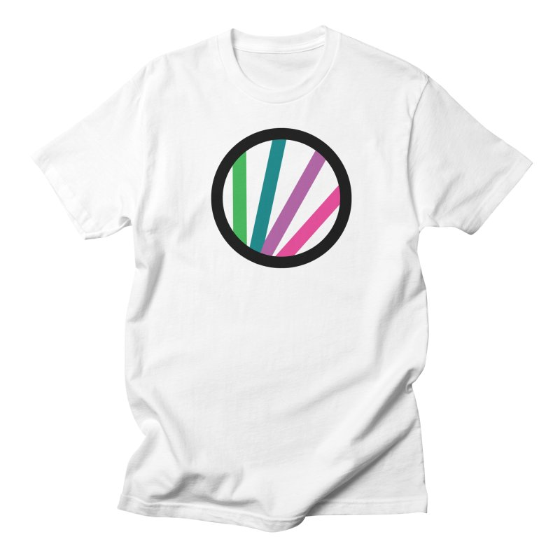 Circle  in Men's T-Shirt White by thewabashlights's Artist Shop