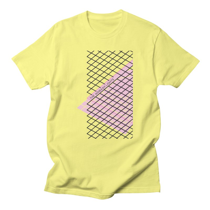 The Wabash Lights by Seth Unger in Men's T-Shirt Lemon by thewabashlights's Artist Shop
