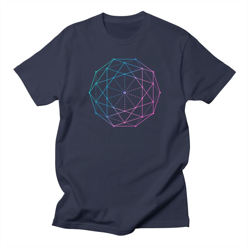 Sphere by Philipp Reitz in Men's T-Shirt Navy by thewabashlights's Artist Shop