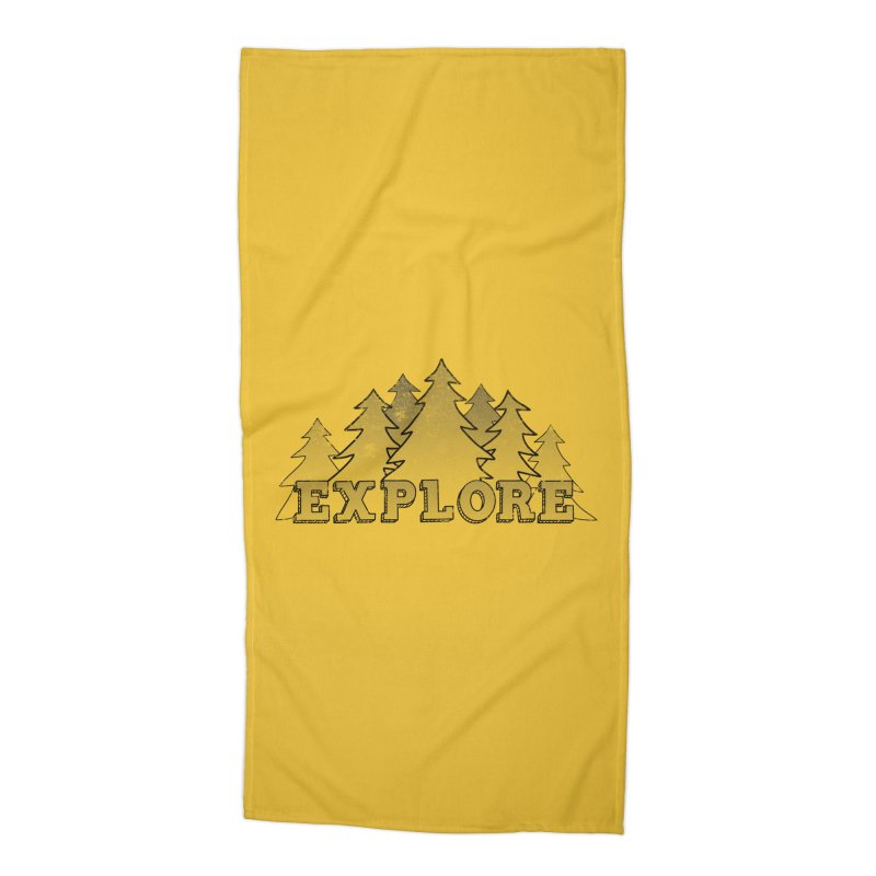 Explore Accessories Beach Towel by The Wandering Fools