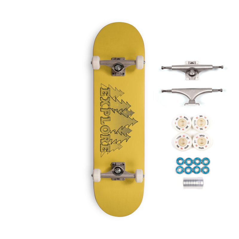 Explore Accessories Complete - Premium Skateboard by The Wandering Fools