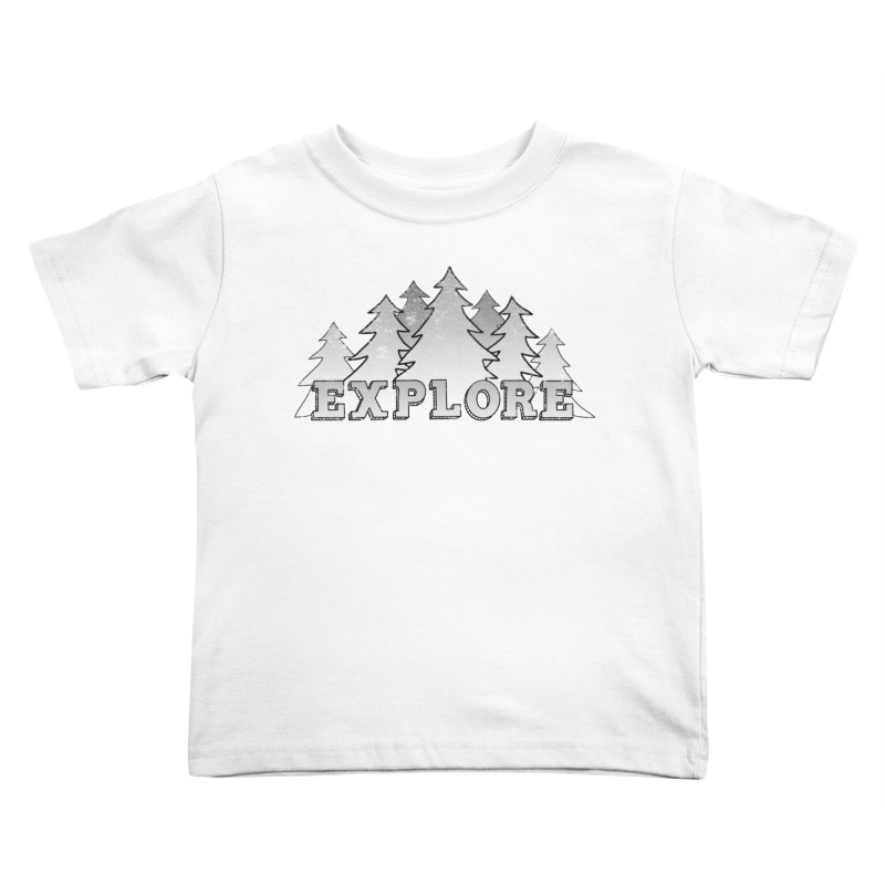 Explore Kids Toddler T-Shirt by The Wandering Fools