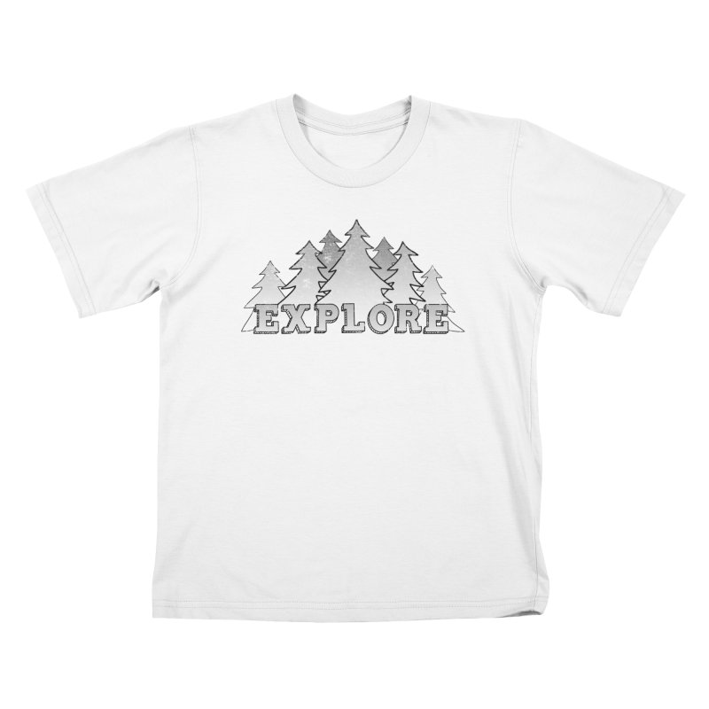 Explore Kids T-Shirt by The Wandering Fools