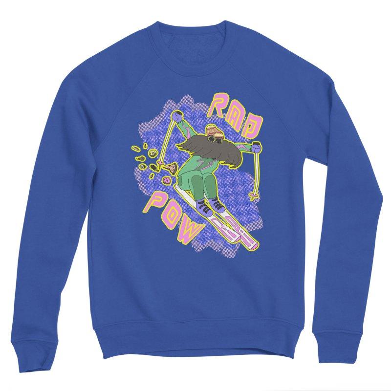 True '80s Ski Legend - Rad Pow Women's Sponge Fleece Sweatshirt by The Wandering Fools