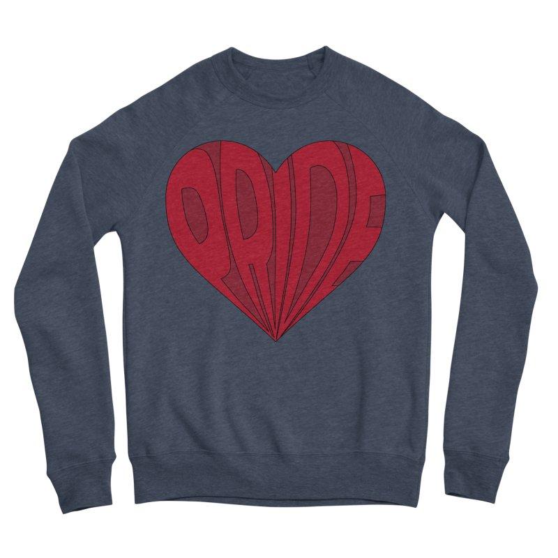 Pride Women's Sponge Fleece Sweatshirt by The Wandering Fools