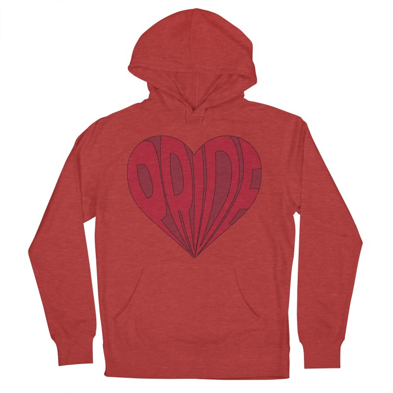 Pride Women's French Terry Pullover Hoody by The Wandering Fools