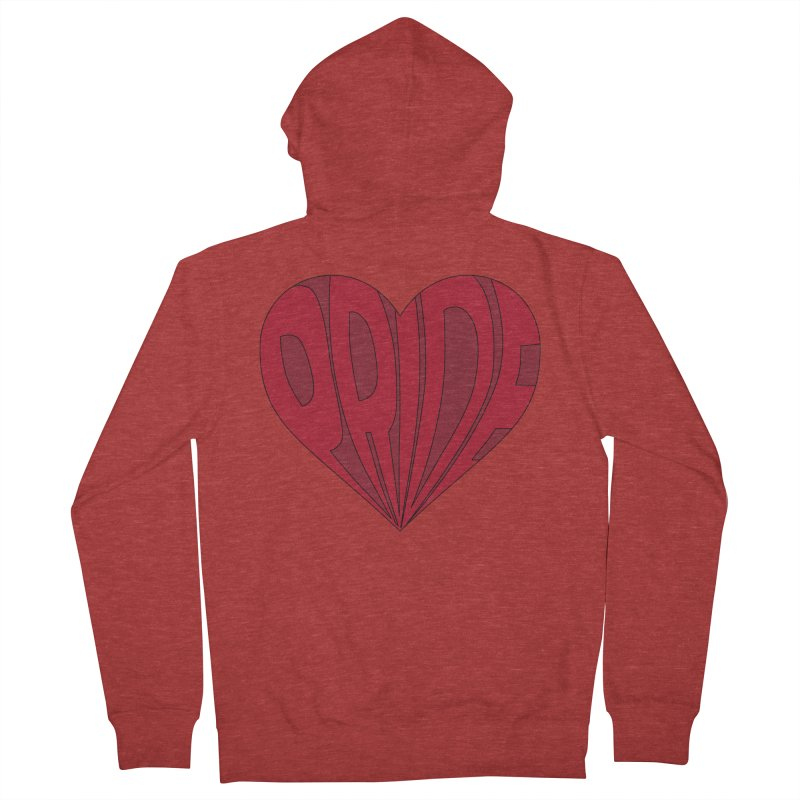 Pride Women's French Terry Zip-Up Hoody by The Wandering Fools