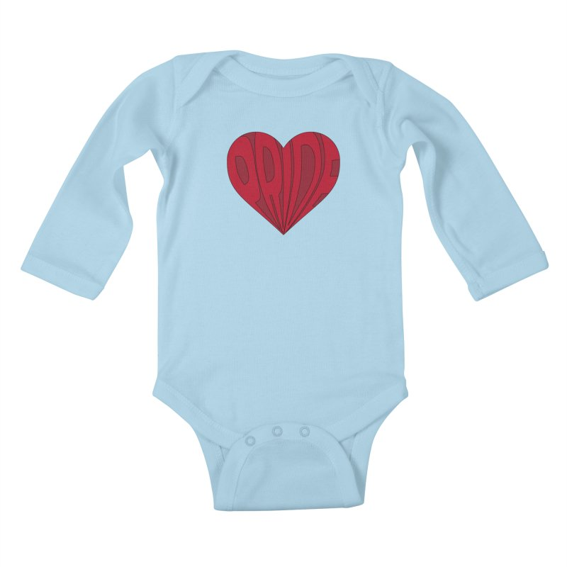 Pride Kids Baby Longsleeve Bodysuit by The Wandering Fools