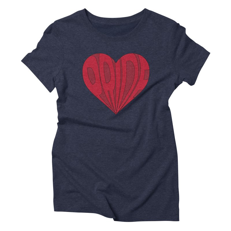 Pride Women's Triblend T-Shirt by The Wandering Fools