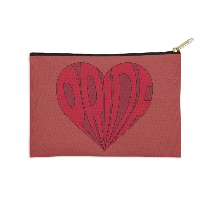 Pride Accessories Zip Pouch by The Wandering Fools