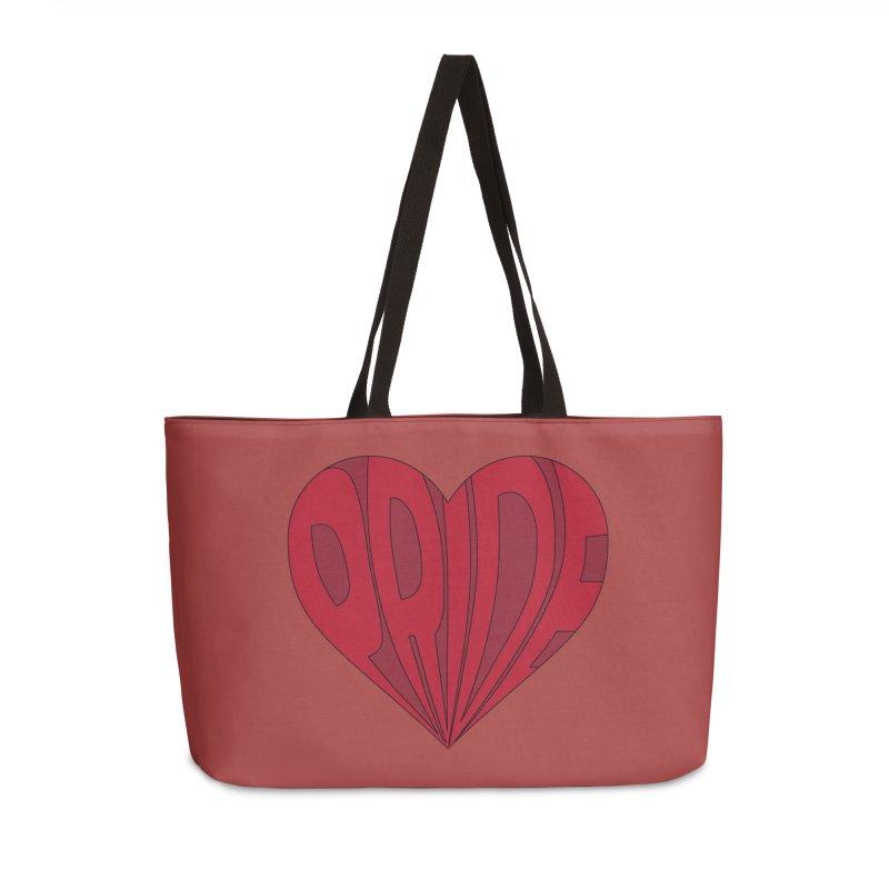 Pride Accessories Weekender Bag Bag by The Wandering Fools