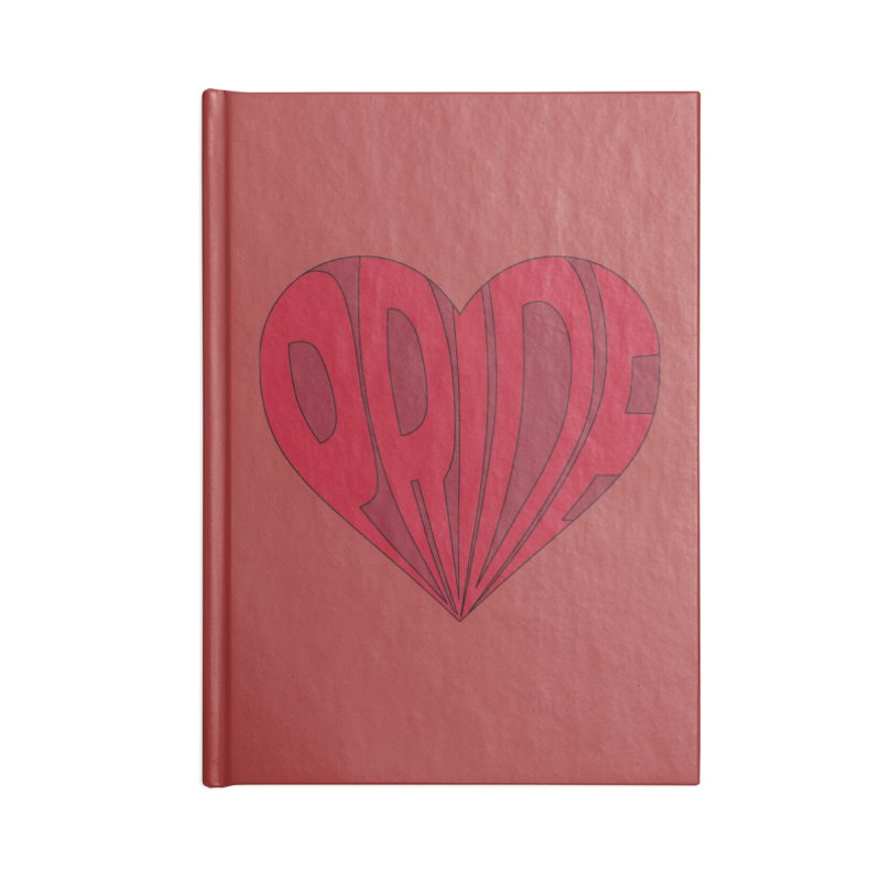 Pride Accessories Blank Journal Notebook by The Wandering Fools