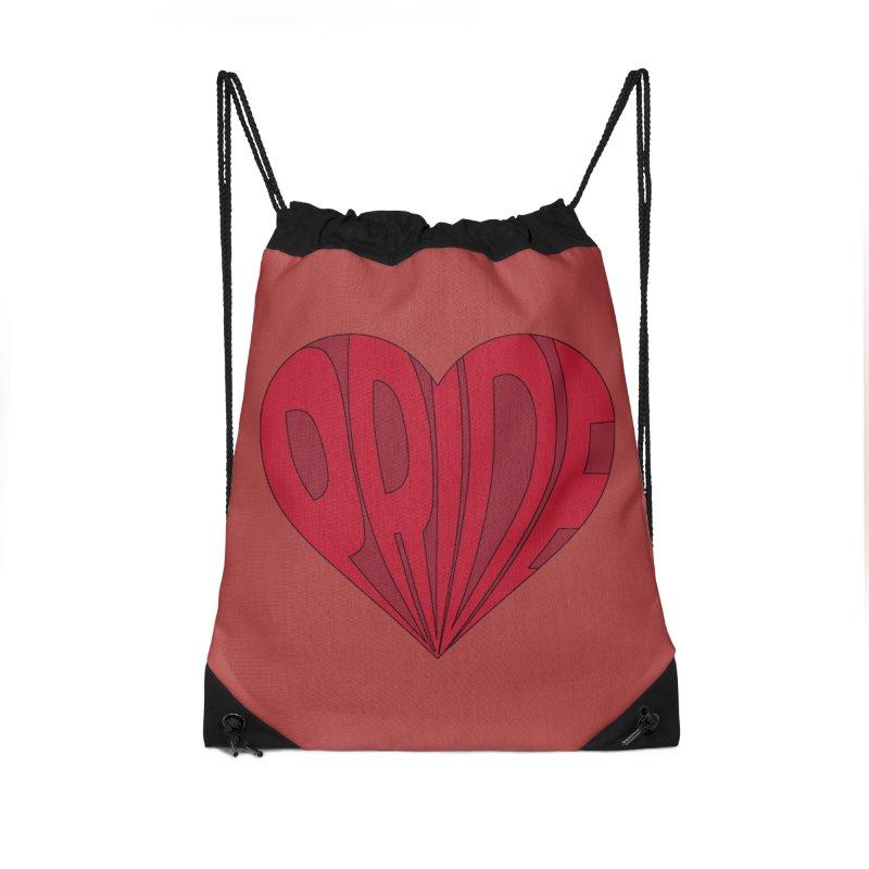 Pride Accessories Drawstring Bag Bag by The Wandering Fools