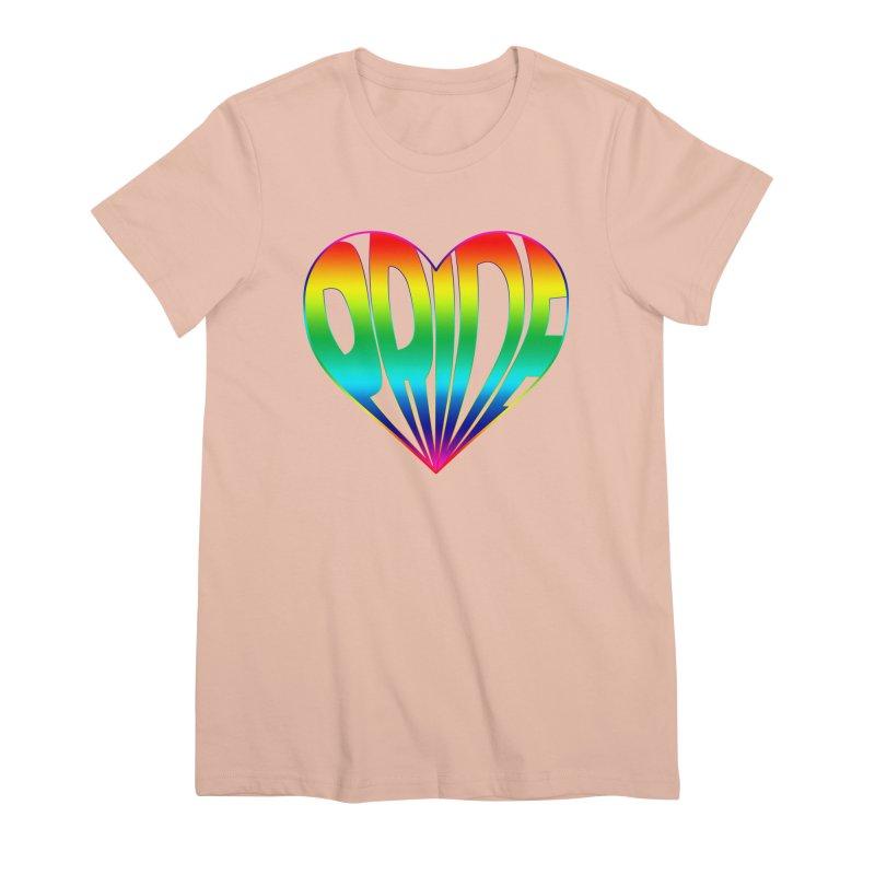 Pride - Rainbow Women's Premium T-Shirt by The Wandering Fools