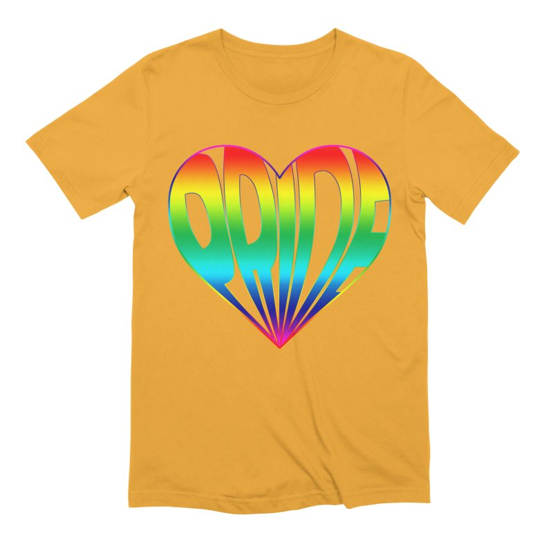 Pride - Rainbow Men's Extra Soft T-Shirt by The Wandering Fools