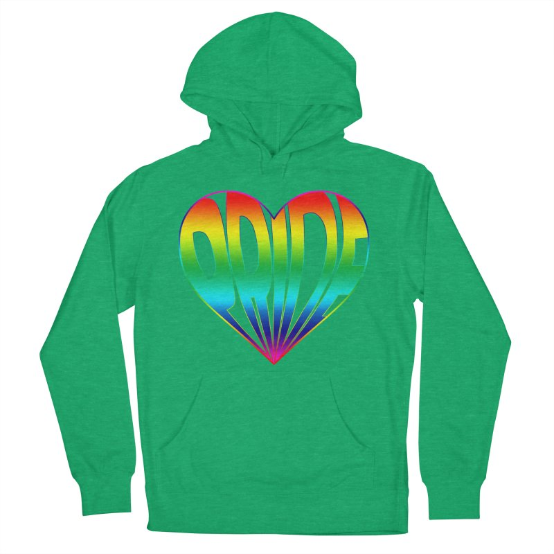 Pride - Rainbow Women's French Terry Pullover Hoody by The Wandering Fools