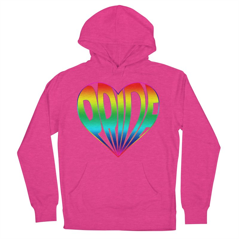 Pride - Rainbow Men's French Terry Pullover Hoody by The Wandering Fools