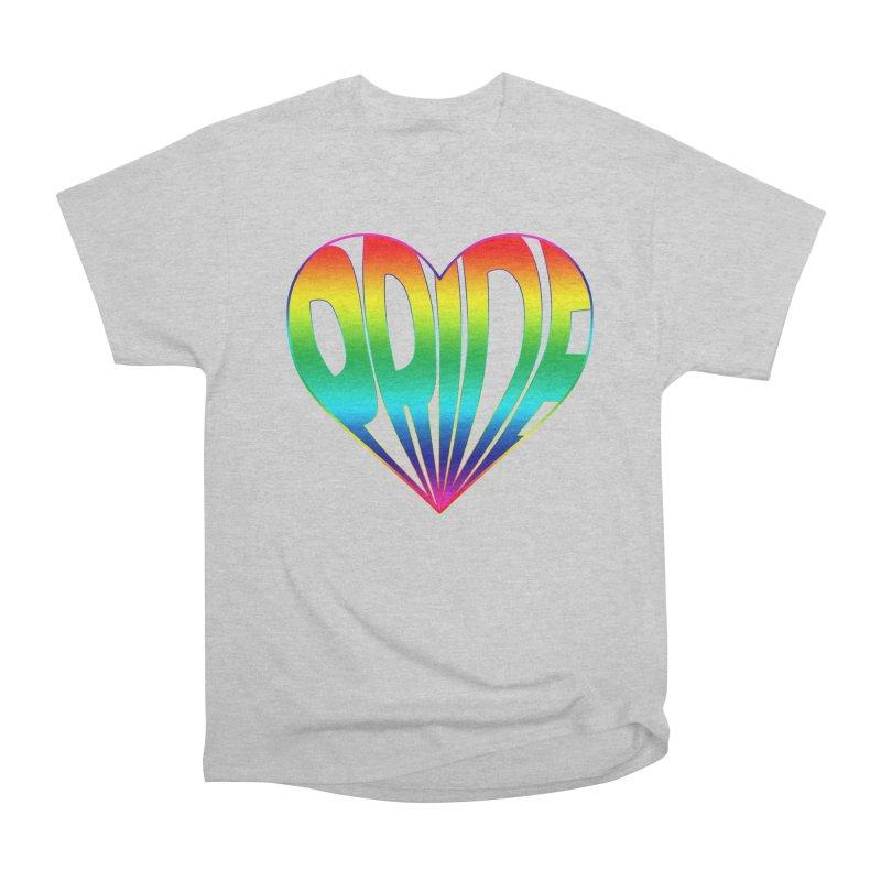 Pride - Rainbow Men's Heavyweight T-Shirt by The Wandering Fools