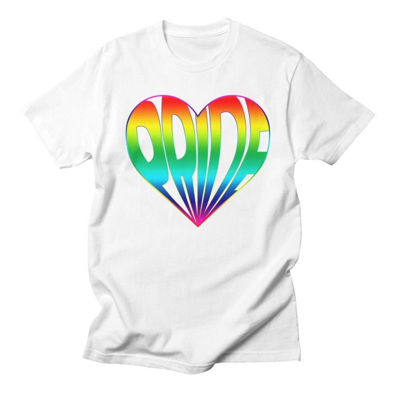 Pride - Rainbow Women's Regular Unisex T-Shirt by The Wandering Fools