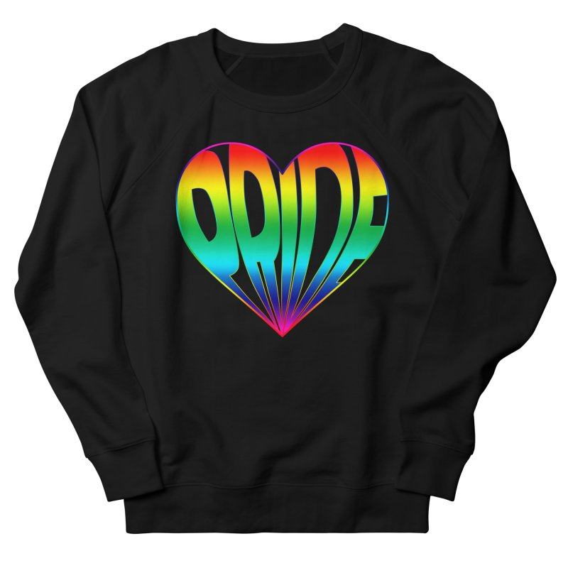 Pride - Rainbow Women's French Terry Sweatshirt by The Wandering Fools