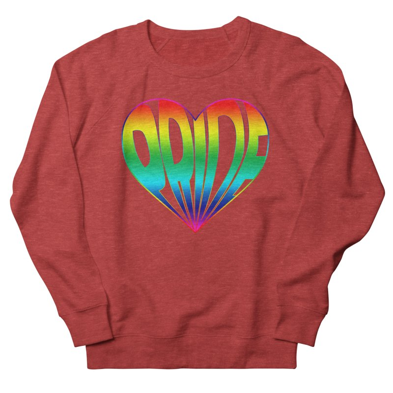 Pride - Rainbow Men's French Terry Sweatshirt by The Wandering Fools