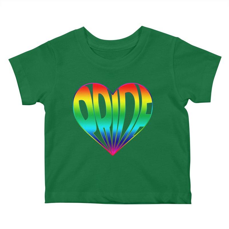 Pride - Rainbow Kids Baby T-Shirt by The Wandering Fools
