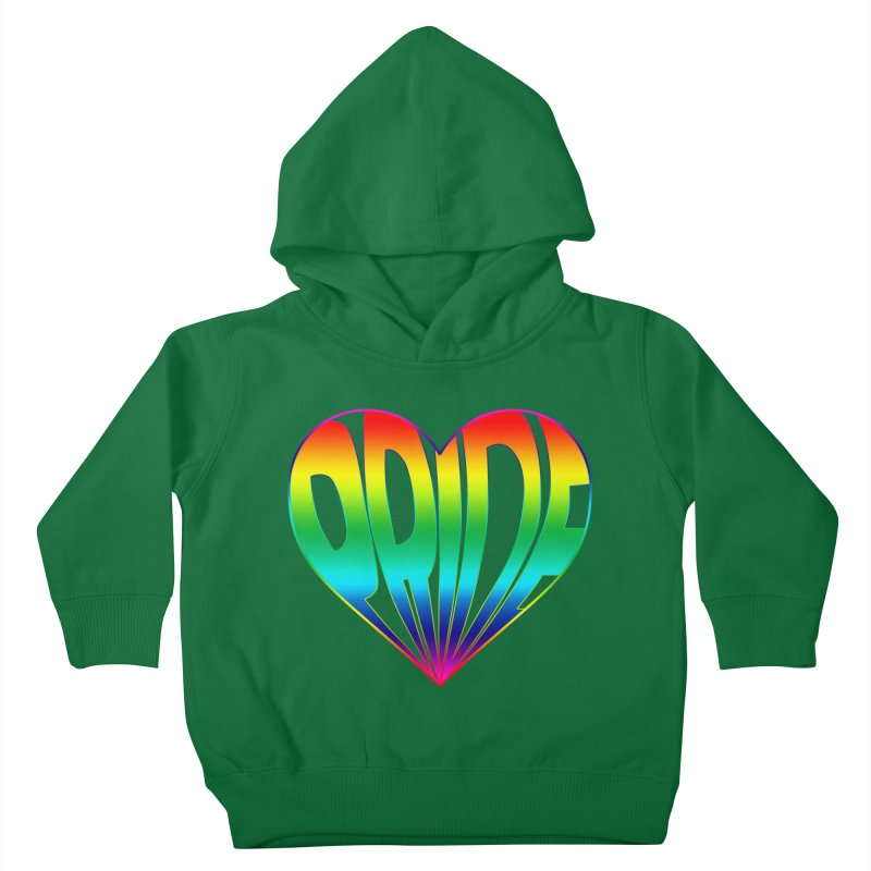 Pride - Rainbow Kids Toddler Pullover Hoody by The Wandering Fools