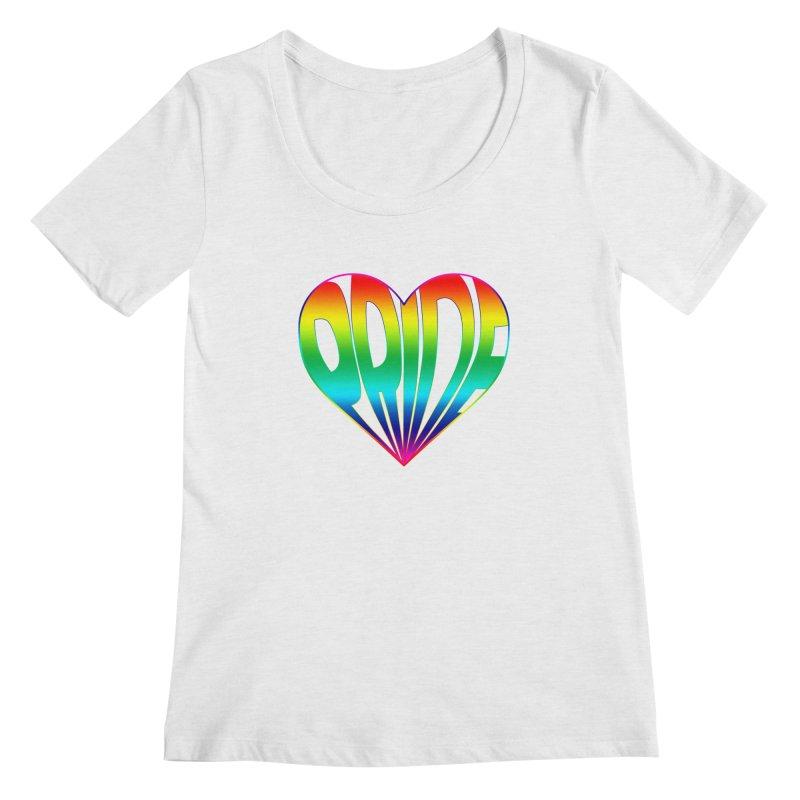 Pride - Rainbow Women's Regular Scoop Neck by The Wandering Fools