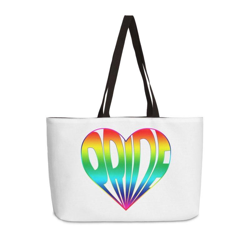 Pride - Rainbow Accessories Weekender Bag Bag by The Wandering Fools