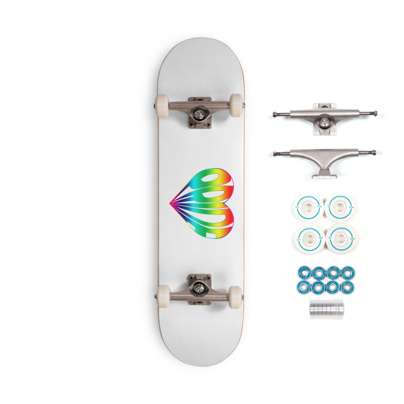 Pride - Rainbow Accessories Complete - Basic Skateboard by The Wandering Fools
